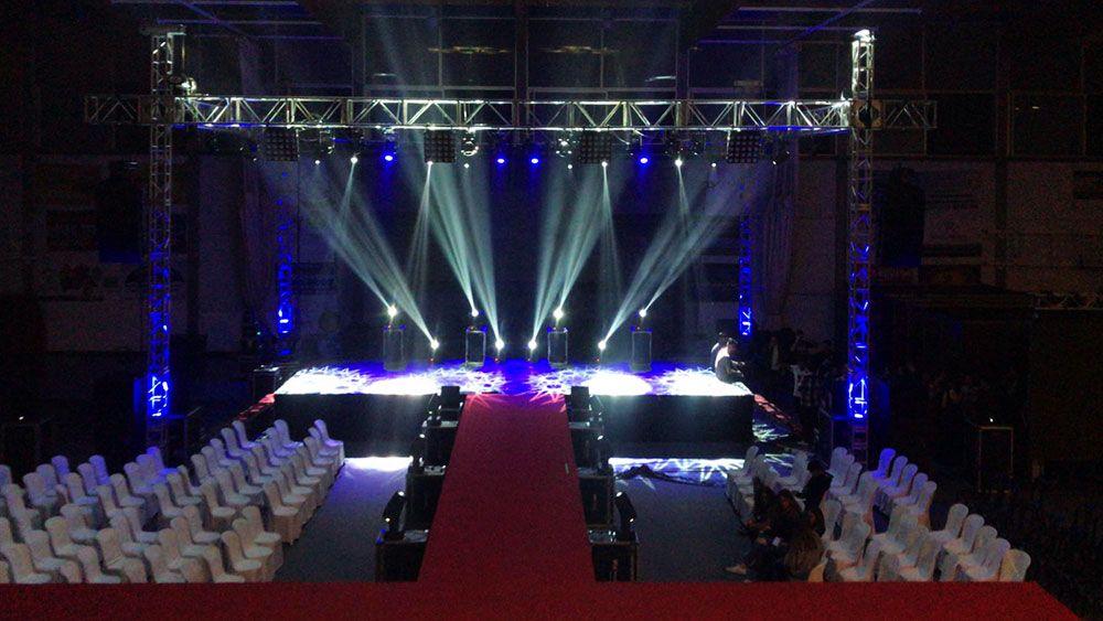 Empresa de sonido, iluminación y pantallas LED profesionales